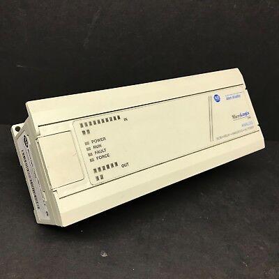 Allen Bradley 1761-l20bwa-5a Ser A Frn 1.0 Micrologix 1000 Controller Analog Cpu