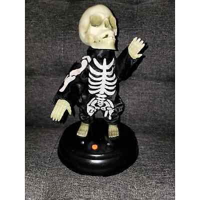 Gemmy Halloween animated Grave Raver skeleton