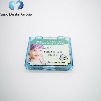 Ship From Usa Dental Orthodontic Brackets Braces Buccal Tube First Molar Roth 22