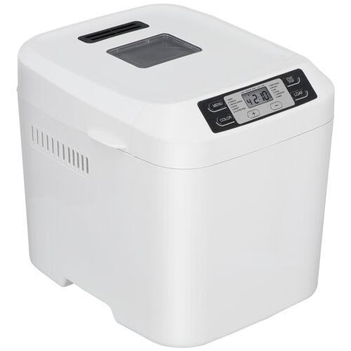 Automatic Bread Machine 2 LB Bread Maker Machine Programmable Timer Delay White Bread Machines