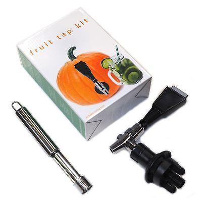 Fruit Keg Tap Kit - ideal for Water Melon Pineapple, Pumpkin - Party Christmas