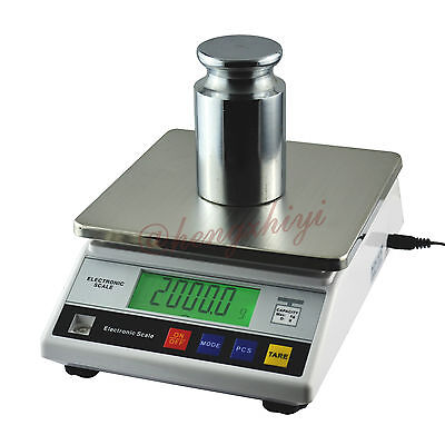 7.5kg x 0.1g Digital Precision Industrial Weighing Scale Balance w Counting