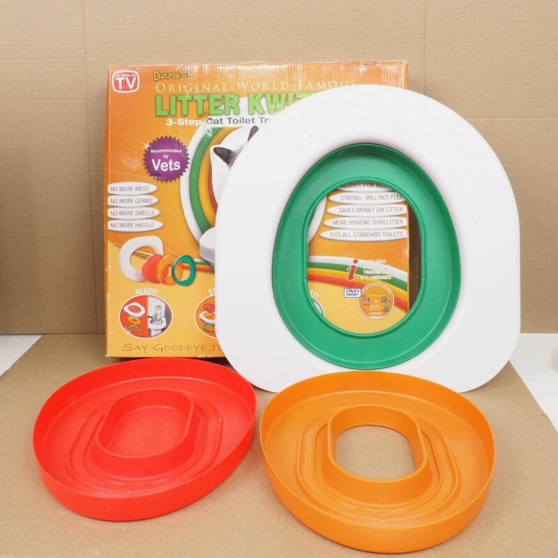 Complete Litter Kwitter Cat Toilet Training System - USED