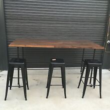 Industrial bar table/ man cave/ work table Hazelwood North Latrobe Valley Preview