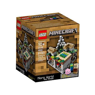 CLEARANCE LEGO Minecraft Micro World The Village #21105 BNIB Rare 2013 Release - Clearance Lego