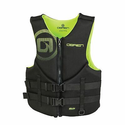 O'Brien Men's Lightweight Zip BioLite Life Jacket, Large, Ye