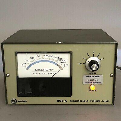 Varian 804-a Thermocouple Vacuum Gauge 804-301