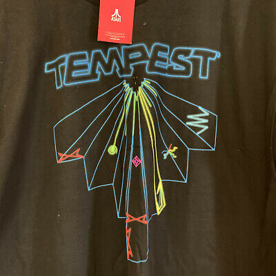 NWT Atari Tempest short sleeve black T-Shirt, Size XL