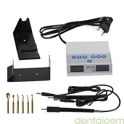 espatula electrica cera para protesis Dental Electric Carving Waxer+2 Pen 6 Tips