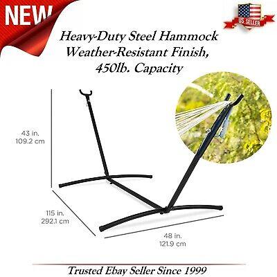 New Design Heavy-Duty Steel 9 ft Hammock Stand Weather-Resis