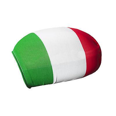 2er Set Spiegelflagge Italien Fahne für Außenspiegel PKW Car Bikini EM WM