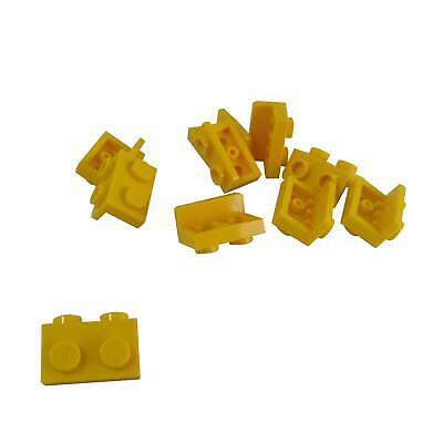 10 NEW LEGO Bracket 1 x 2 - 1 x 2 Yellow