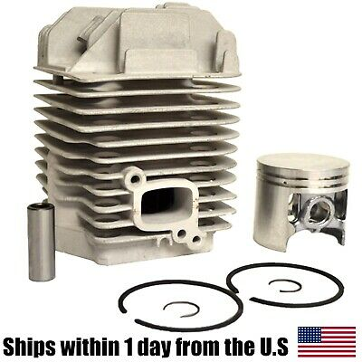 Cylinder Head Piston Fits Stihl Ts460 Ts 460 48mm Rings Pin Clips Cutquik Saw