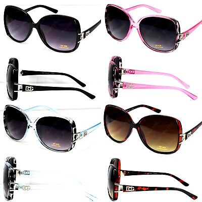 New WB Womens Designer Fashion Butterfly Square Sunglasses Retro Shades (Womens Fashion Sunglasses)