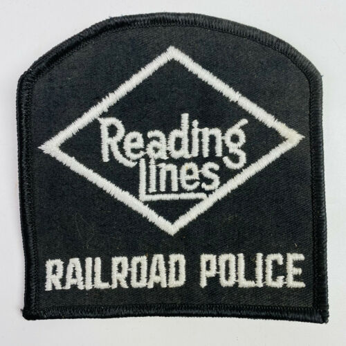 Reading Lines Railroad Police Pennsylvania Patch