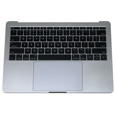 """Top case Keyboard Battery Trackpad  Space Gray MacBook Pro 13"""" A1708 2016 2017"""