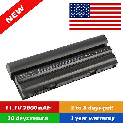 - 9 Cell Laptop Battery For Dell Latitude E6540 E6530 E6440 E6430 E6420 NHXVW O