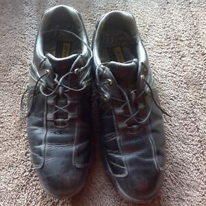 Mens size 10.5 DryJoy golf shoes. Excellent condition.