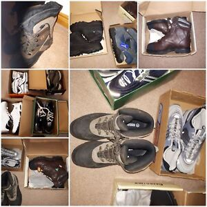 All runners  .size 12 and 13 men's  .different  name  brand. Sel