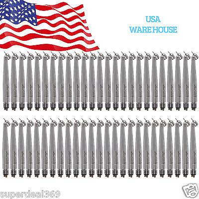 50nsk Pana 45 Degree Dental High Speed Air Turbine Handpiece Push Spray 4h Usa