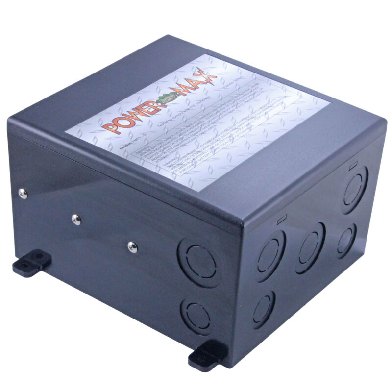 POWERMAX PMTS-30 30 a AMP RV GENERATOR TO SHORELINE AUTOMATIC TRANSFER SWITCH