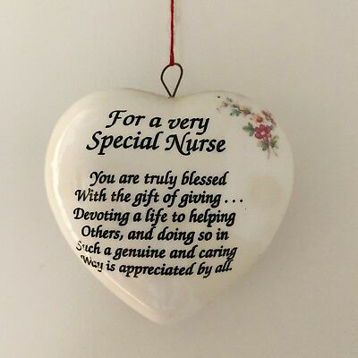 Nurse Ornament Heart Top Notch Special Nurse USA](Nurse Ornaments)