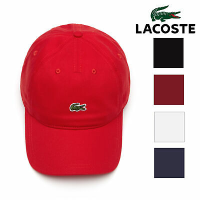 Lacoste Mens Embroidered Small Croc' Snapback Cotton Cap (Small Cap Hat)