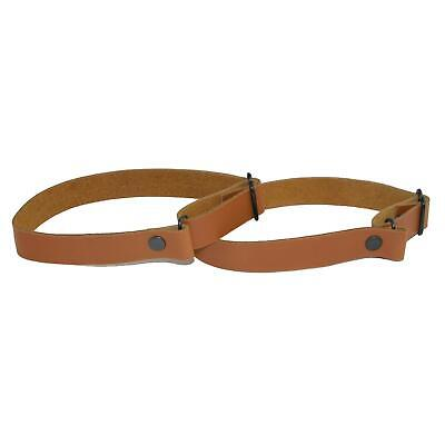 New CTM Men's Coated Leather Solid Color Adjustable Armband