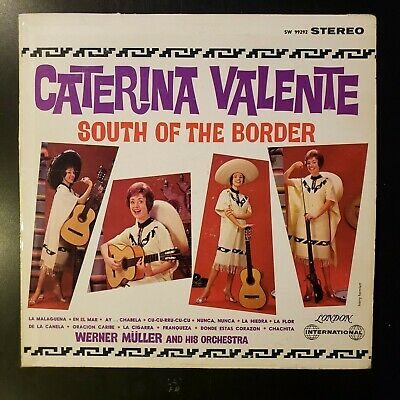 "Caterina Valente ""South of the Border"" Vinyl Record LP"