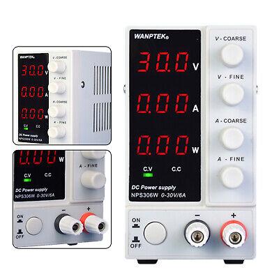 30v 10a Dc Power Supply Precision Variable Dual 3 Digitals Lab Test Adjustable