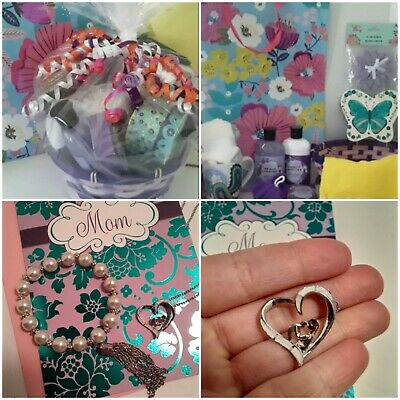 Any Occasion Gift Basket For Mom with FREE Gift Bag, Tissues & Card! 001
