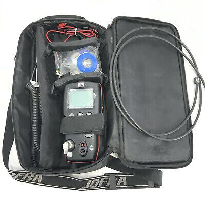 Ametek Jofra Hpc600 Digital Handheld Pressure Calibrator 150 Psi 10 Bar Extras