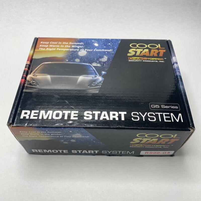 cool start remote start system g5 series RS00-G5