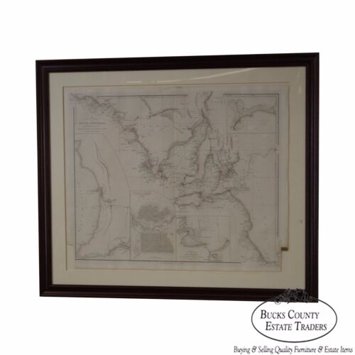 W. Graham Arader III Antique Framed Map of Austria