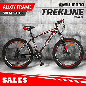 """Mens Mountain Bike 26inch Shimano Gears 21-Speed 17"""" Bicycle bike Melbourne Region Preview"""