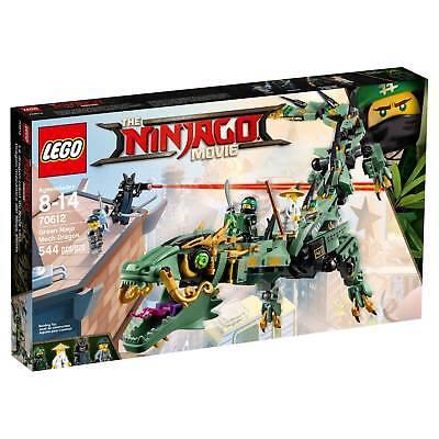 Lego  174  Ninjago Green Ninja Mech Dragon 70612