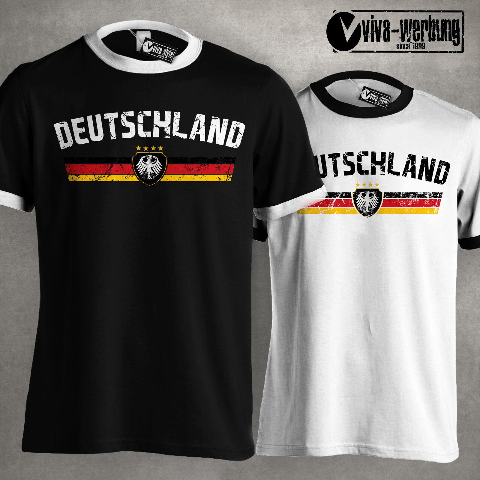 Deutschland WM T-Shirt 2018 Fussball Germany Trikot Weltmeister Fan Russland 003