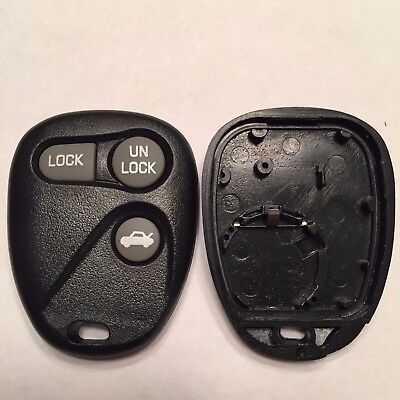 New Replacement 3 Button Keyless Remote Shell Case + Pad ABO1502T 16245100-29