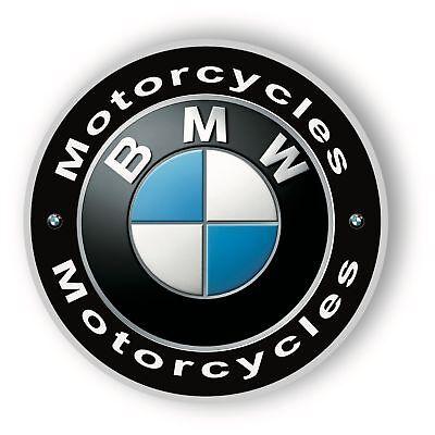 BMW MOTORCYCLE SIGN - 14 inch Diameter Metal Sign
