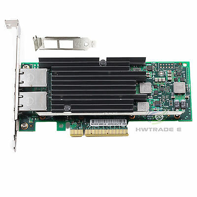 Intel OEM X540-T2 10G PCI-Express Dual RJ45 Ports Ethernet Network Adapter