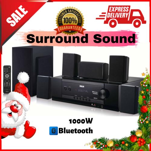 RCA Bluetooth Home Theater System 1000W Audio Surround Sound