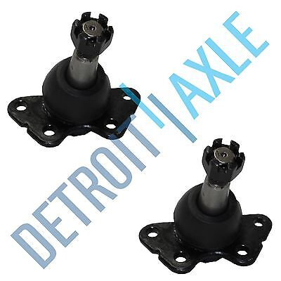 2 New Front Upper 1989 - 2002 Chevrolet GMC Driver and Passenge Ball Joint Kit