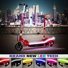 Electric Scooter Kids EScoot Ride on Rechargeable Battery Led Lights 24v - 120W