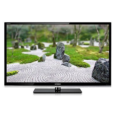 "Hitachi LE55W806 55"" Full 3D 1080p HD LED LCD Internet TV hdtv wifi new glasses on Rummage"