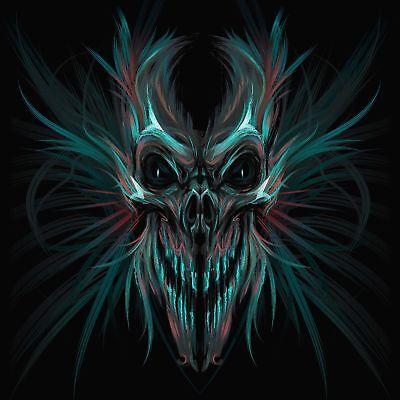 SCREAMING SKULL VINYL 3M USA MADE DECAL STICKER TRUCK WINDOW BUMPER WALL - Screaming Skull