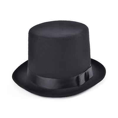 Zylinder Wollfilz Hut Erwachsene Viktorianisch Kostüm Zubehör Herren - Viktorianischer Hut Kostüm