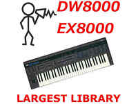 Korg Wavestation EX SR AD  40,000 Sounds Programs Patches Largest Library