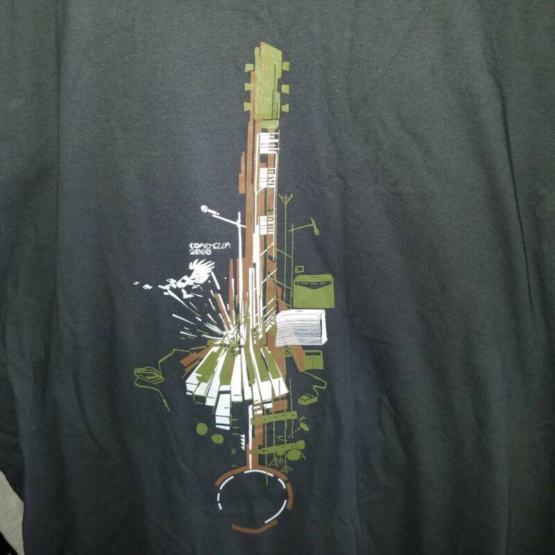 Coachella 2001 crew shirt RARE mens XL