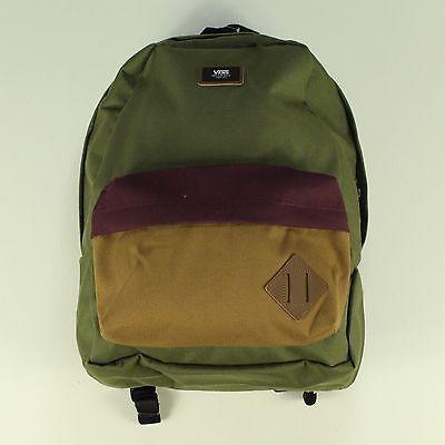 Vans Old Skool II Backpack – Forest / Burgundy / Burnt Orange