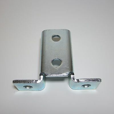 (4) Unistrut (8) Hole Winged Shaped Fitting / Zinc Plated / P2346 B272